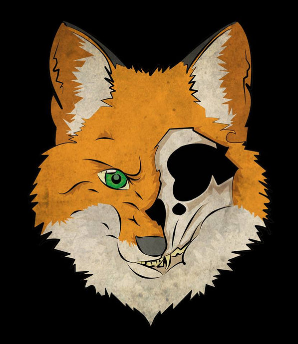 Sanity Fox Sticker