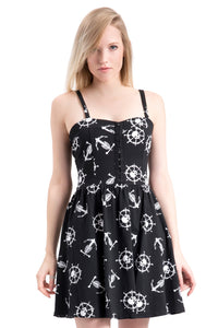 Ghost Ship Skater Dress