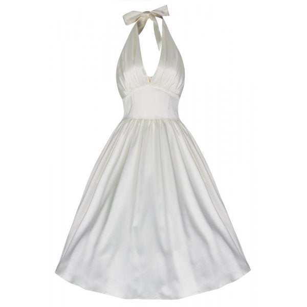 Marilyn Ivory Swing Dress