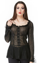 Poison Long Sleeve Lace Top