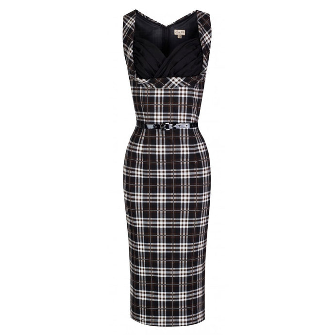 Vanessa Tartan Wiggle Dress