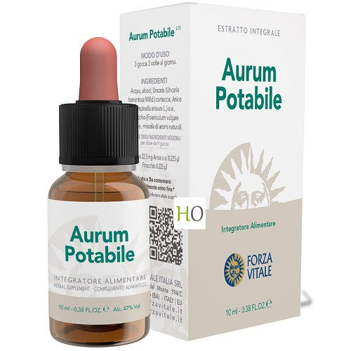 Aurum Potabile 10 ml Forza Vitale