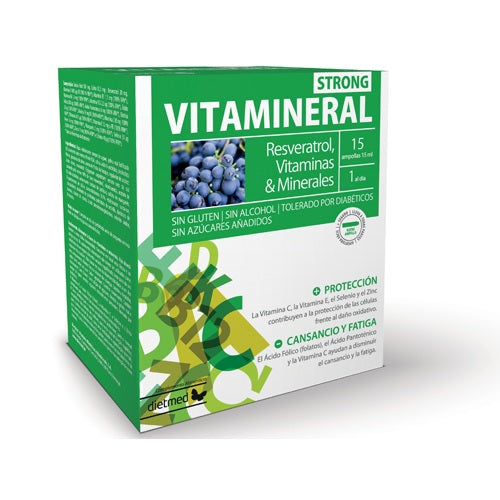 Vitamineral Strong 15 Ampollas