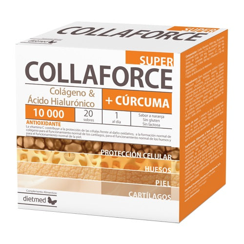 Collaforce Super + Cúrcuma 20 sobres.