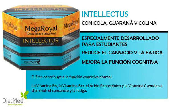 MegaRoyal Intellectus Jalea Real Estudiantes 20 viales