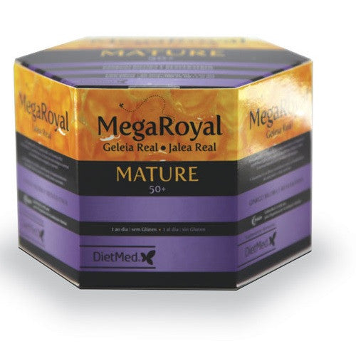 Megaroyal Mature 50+ Jalea Real 20 viales