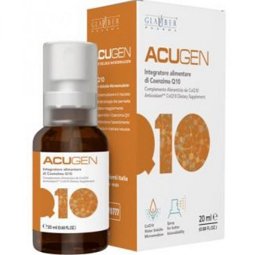 Acugen coenzima Q10 spray 20ml. Glauber