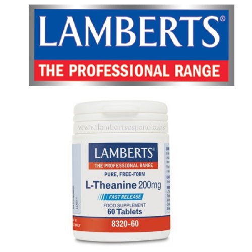L-Theanina 200mg Lamberts