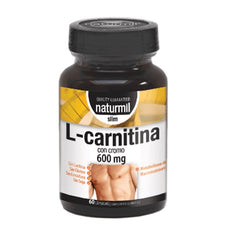 L-Carnitina Strong 600mg 60 cápsulas Naturmil