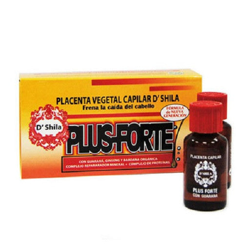 Placenta vegetal capilar Plus forte 4x25ml