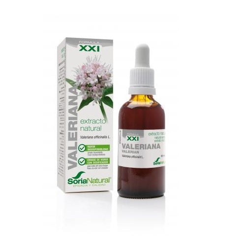 Extracto de valeriana XXI 50ml Soria Natural