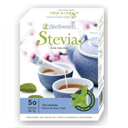 Stevia 50 sticks individuales