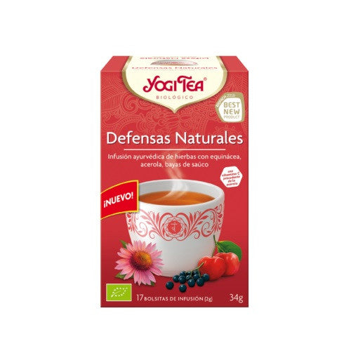 Yogi tea Defensas naturales 17 filtros