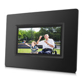 7 inch Smart WiFi Cloud Digital Photo Frame CPF716 with Built-in Battery - free Cloud Storage, real-time photos, Movies, Social Media, browser, all APPs