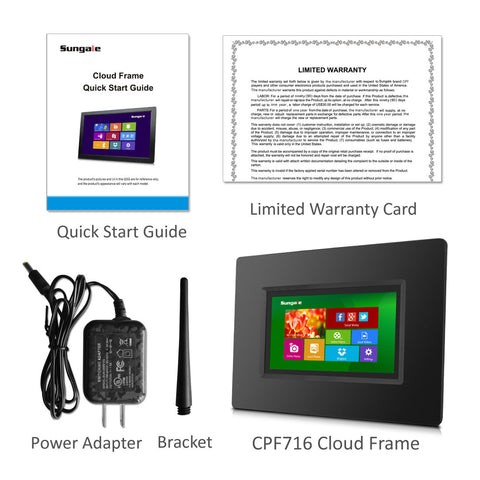 TODAY\'S SPECIAL: 7 inch Smart WiFi Cloud Digital Photo Frame CPF716 ...