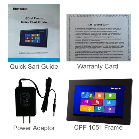 10 Inch Smart Wifi Cloud Digital Photo Frame Cpf1051 With Ips Screen