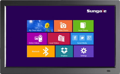 "Sungale 19"" Cloud Frame CD1900WV+ Modern Interface"