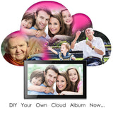 "19"" Cloud Frame  Model: CPF1903 - True Cloud Frame with Editable Cloud Albums, 20GB Free Cloud Storage, Computer or APP Remote Manage, Easy Setup, Full Features & Functions, advanced technology than WiFi frames, quality guaranteed"