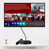 "Sungale 32"" Screen + Digital Signage Box Combo with Cloud Support, Cloud Storage, suitable for all B2C, B2B business, manage the content yourself, Remote Content Management"