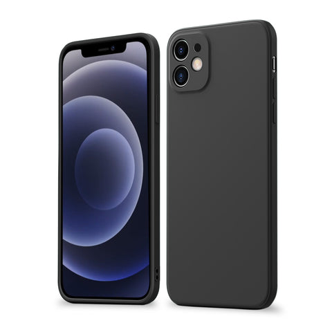 Alpha Digital Liquid Silicone Protective Case, Especially designed for iPhone 12, Soft Microfiber Lining, super soft, durable material, easy to clean, Dirt-resistant, Anti-knock, Anti-Fingerprint, Full Body Protective