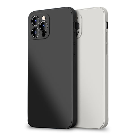 Alpha Digital Liquid Silicone Protective Case, Especially designed for iPhone 12 Pro. Soft Microfiber Lining, super soft, durable material, easy to clean, Dirt-resistant, Anti-knock, Anti-Fingerprint, Full Body Protection