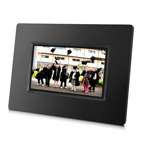 [Fathers Day Sale] Alpha Digital 7 inch Cloud Frame: Innovated APP for iPhone & Android, 1024x600 Hi-Res Screen, 20GB Free Cloud Storage