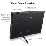 "10"" Cloud Frame  Model: CPF1051+ - True Cloud Frame with Editable Cloud Albums, 20GB Free Cloud Storage, Computer or APP Remote Manage, Easy Setup, Full Features & Functions, advanced technology than WiFi frames, quality guaranteed"