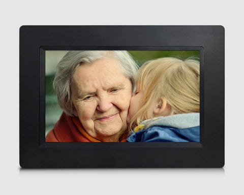 "7"" Cloud Frame   Model: CPF708  - True Cloud Frame with Editable Cloud Albums, 20GB Free Cloud Storage, Computer or APP Remote Manage, Easy Setup, Full Features & Functions, advanced technology than WiFi frames, quality guaranteed"