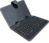Tablet keyboard case