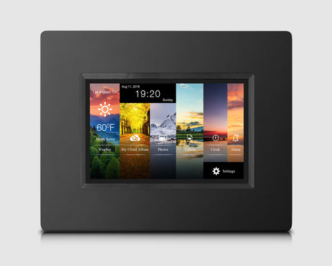 "Valentines Day Sale: Alpha Digital 7"" Cloud Frame   Model: KS782"