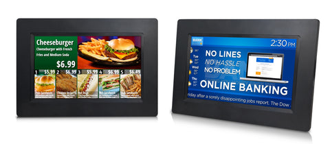 Complete Digital Signage Solution with 5 size selections and Remote Cloud Control Support