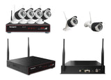Wireless Monitoring Kit with 4 cameras  Model: SG-WK204