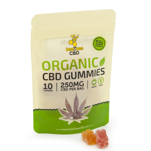 beeZbee CBD Full Spectrum Vegan Gummies 250mg