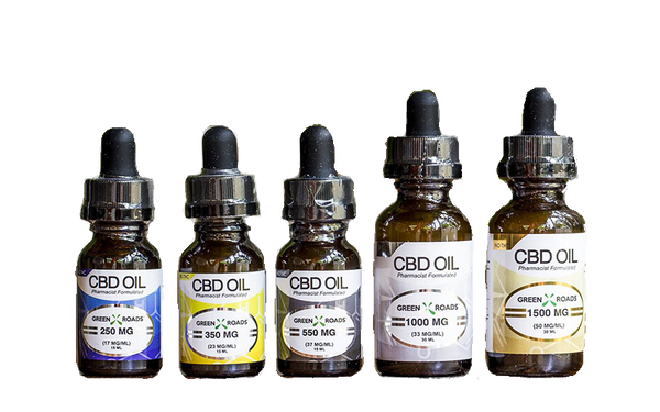 Green Roads CBD Oil Vegetable Glycerin PCR 100mg 250mg 350mg 550mg 1000mg 1500mg CBD Oil
