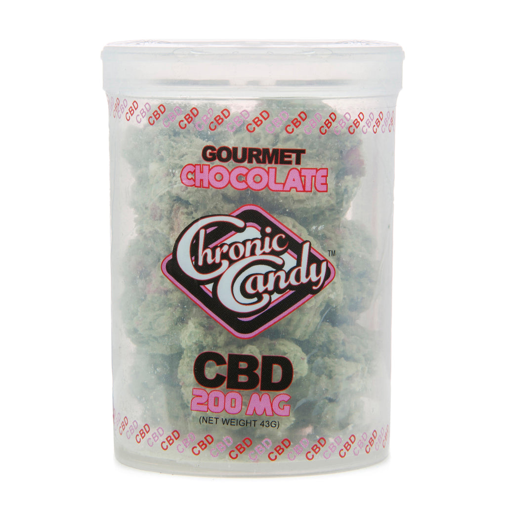 Chronic Candy CBD Chocolate Buds 200mg - CBD Kratom