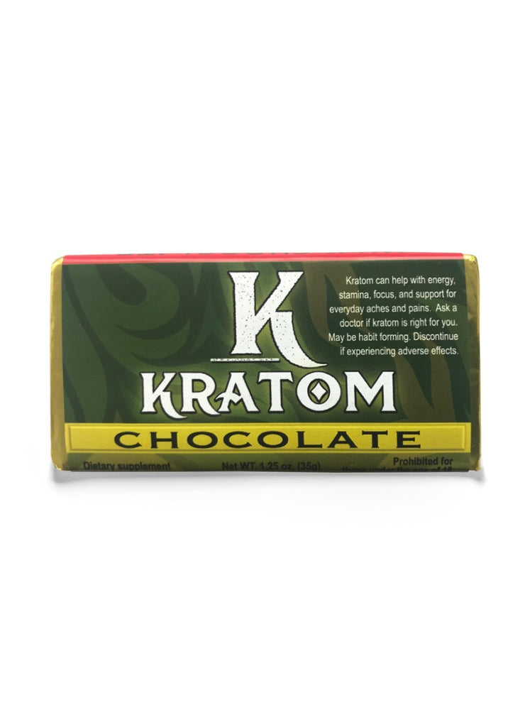 Kratom Chocolate Bar 2g by KAVA Chocolate - Shop CBD Kratom