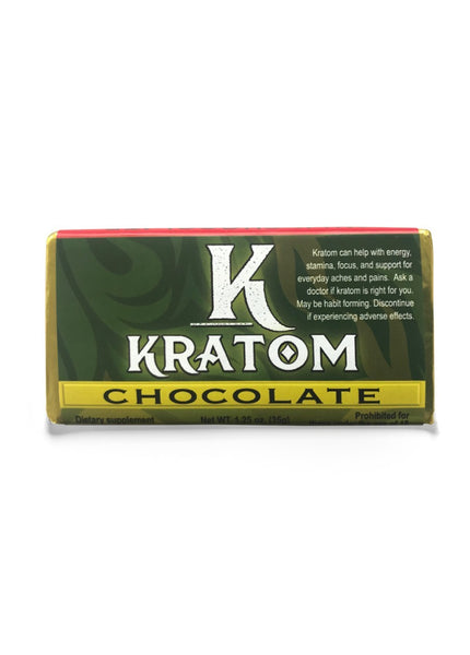 Kratom Chocolate Bar 2g by KAVA Chocolate - CBD Kratom