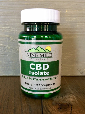 Nine Mile Botanicals CBD Isolate