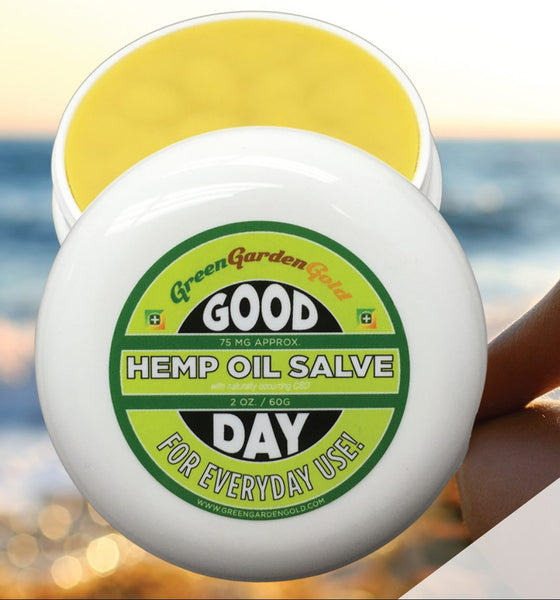 Green Garden Gold Good Day Hemp Oil Salve