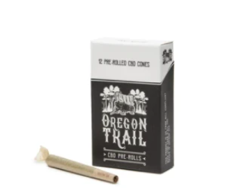 Oregeon Trail CBG Hemp Flower Pre Rolled Cones - CBD Kratom