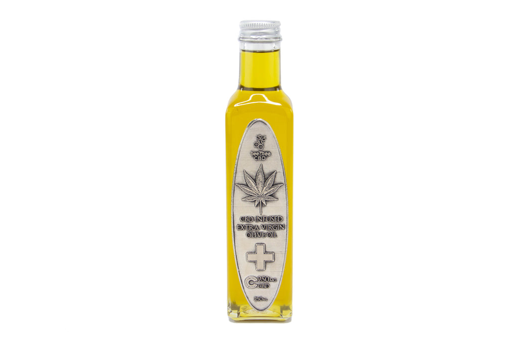 beeZbee CBD Olive Oil 250mg - Shop CBD Kratom