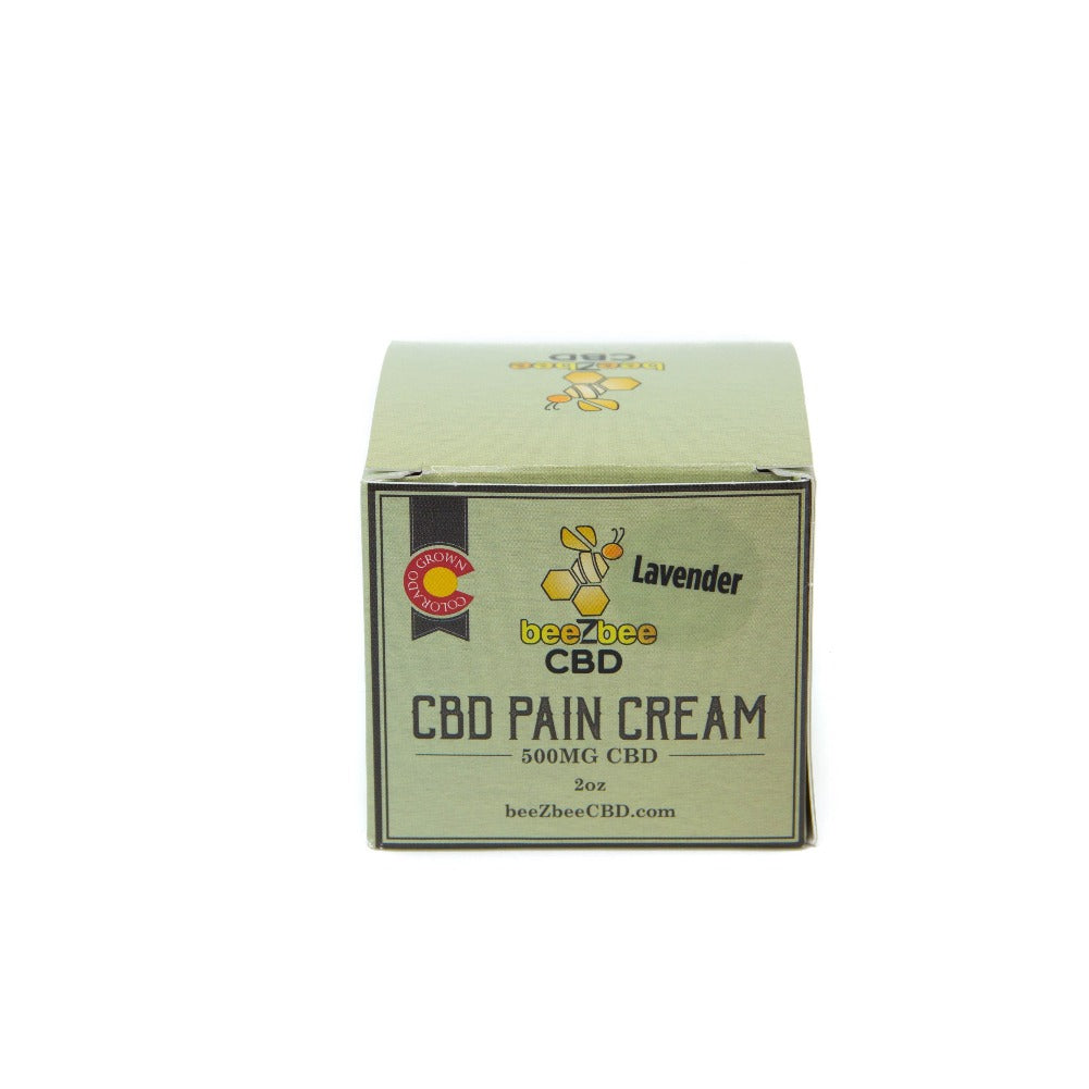beeZbee CBD Pain Cream 500mg - Shop CBD Kratom