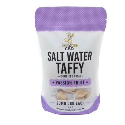 beeZbee CBD Salt Water Taffy 400mg - CBD Kratom