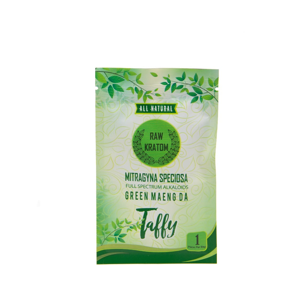 Raw Kratom Taffy Single 20mg - Shop CBD Kratom