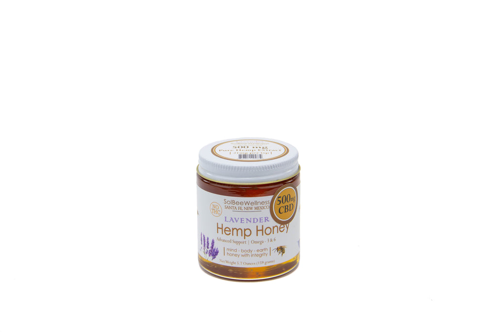Solbee Wellness CBD Hemp Honey 500mg - CBD Kratom