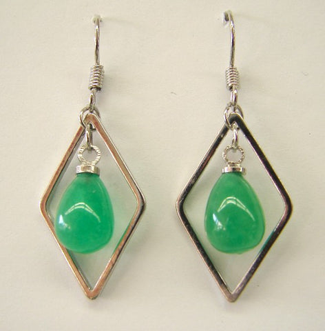 Jade Drop Earrings - Asianly