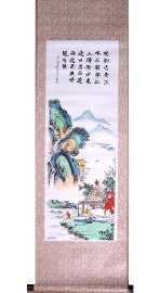 Hand painted Scrolls - Asianly