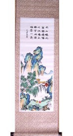 Hand Painted Wall Scrolls - Asianly