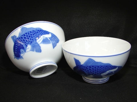 4 of Porcelain Rice Bowls - Asianly