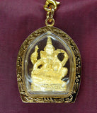 Gold Ganesh Hindu God Pendants - Asianly